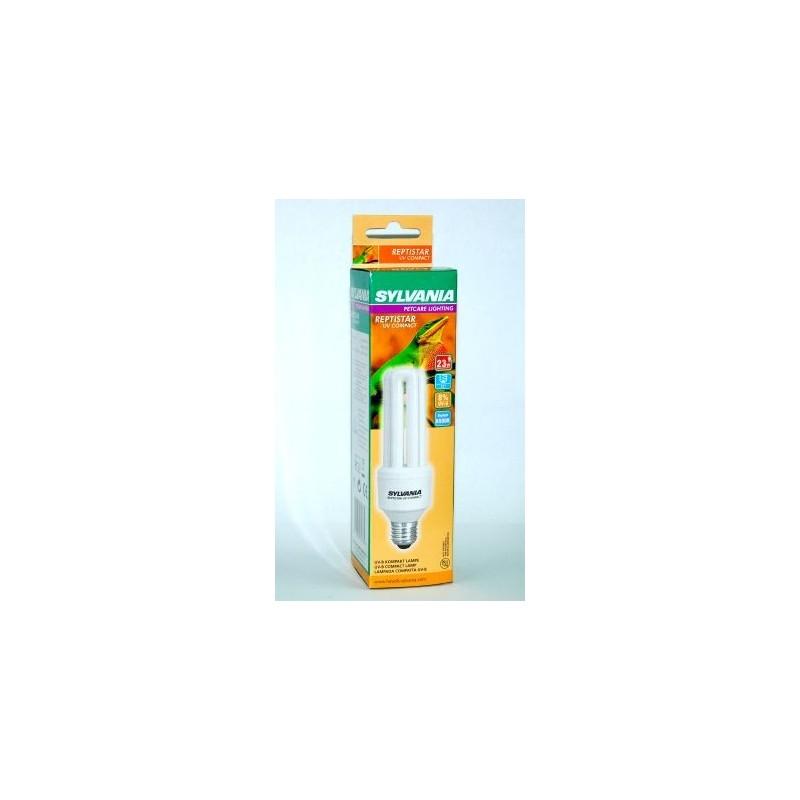 Sylvania Lampada MiniLynx Reptistar 23W 6500K UV-B 8% E27 luce per rettili