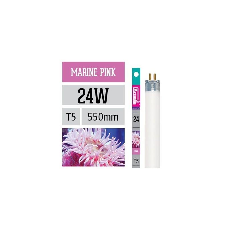 Arcadia Neon Marine Pink T5 24W 550mm luce per acquario marino favorisce la crescita dei coralli - FMP24T5