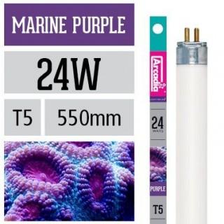 Arcadia Neon Marine Purple T5 24W 550mm luce per acquario marino favorisce la crescita dei coralli - FMPU24T5