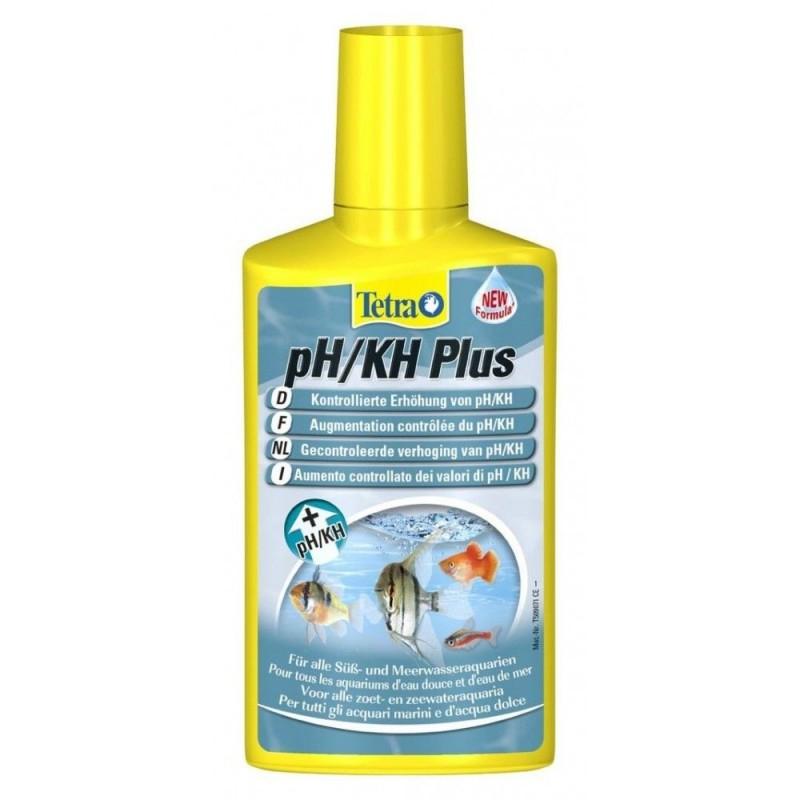 Tetra pH/KH Plus 250 ml aumenta il livello di durezza carbonatica in acquario stabilizza il ph
