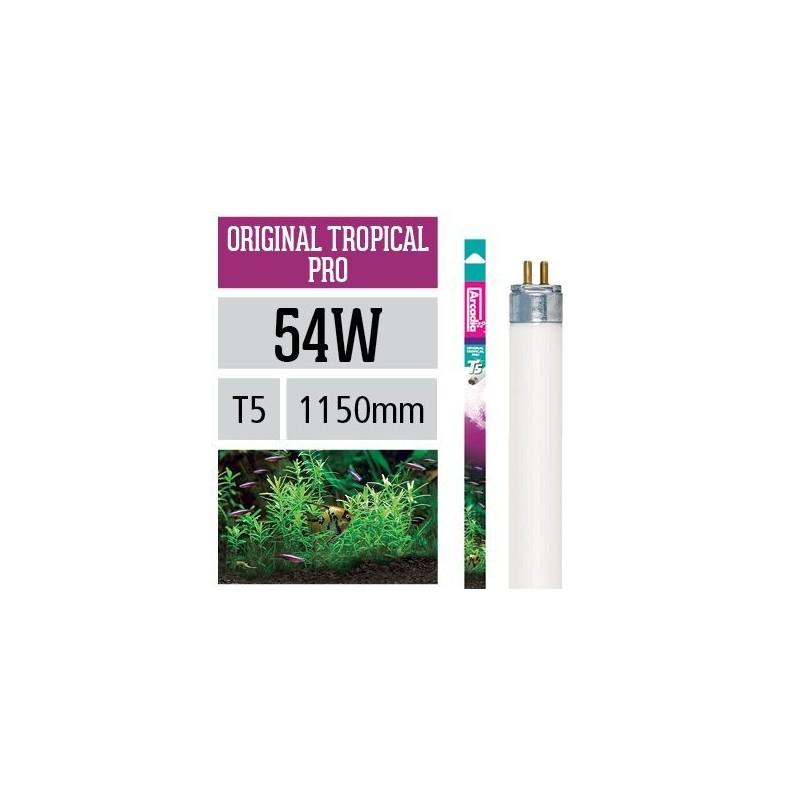 Arcadia Neon Original Tropical T5 54W 1150mm luce ottimale per la fotosintesi delle piante in acquario - FO54T5
