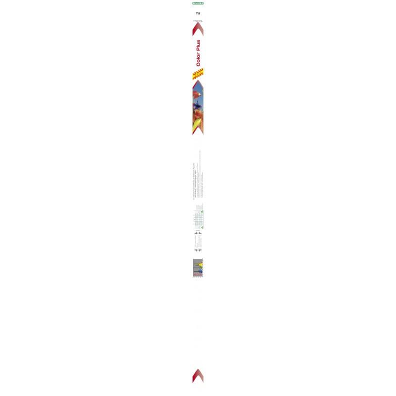 Dennerle 2924 Trocal T5 Color Plus 24W 438mm con UV Stop per Acqua Dolce Tubo Compatibile con Acquari Juwel