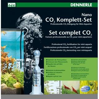 Dennerle 2967 Nano Set Co2 completo per Nano Acquari con bombola 80 gr