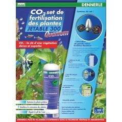 Dennerle 2974 Impianto CO2 Evolution Quantum 300 Con Bombola non Ricaricabile da 500gr per Acquari fino a 300 Litri