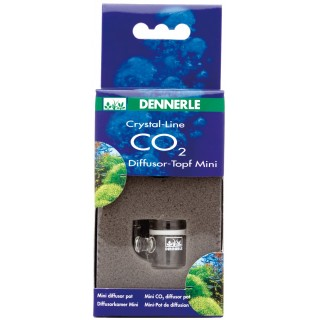 Dennerle 2980 Crystal Line Mini Diffusor Pot Diffusore Co2 per acquario