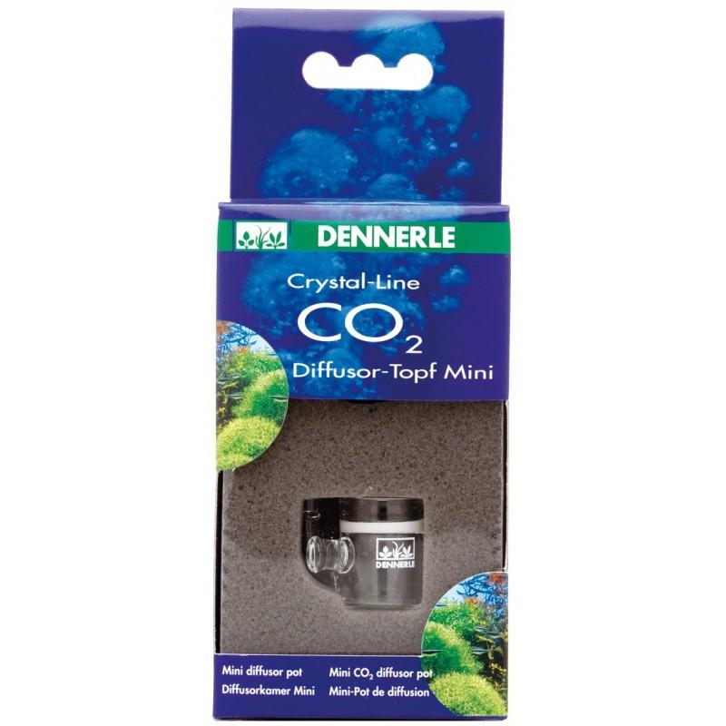Dennerle 2980 Crystal Line Mini Diffusor Pot Diffusore Co2 per acquario