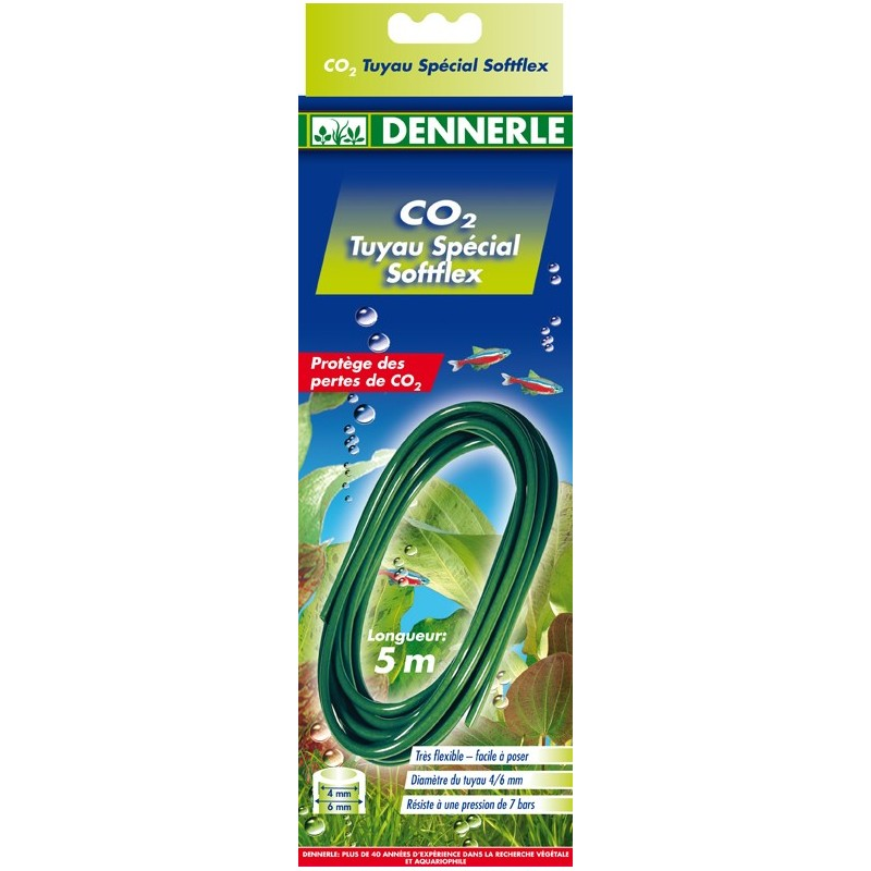Dennerle 3061 Softflex Tubo speciale per CO2 5 Metri
