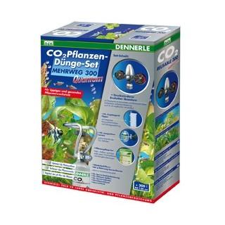 Dennerle 3076 Impianto CO2 Evolution Quantum 300 Con Bombola Ricaricabile da 500gr per Acquari fino a 300 Litri
