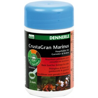 Dennerle 5631 NANO CrustaGran Marinus 100ml + misurino - mangime di base per gamberetti e granchi