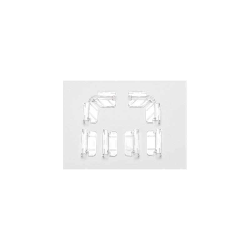 Dennerle 5896 Kit Appoggini coperchio per acquari aperti con spessore 5mm