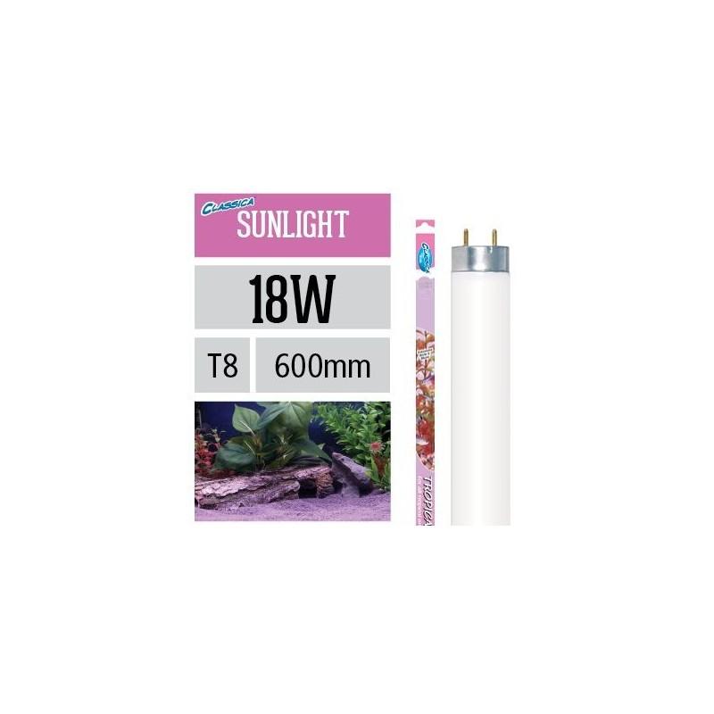 Arcadia Neon Classica Tropical Sunlight T8 18W luce per piante d'acquario evidenzia rosso e blu - FY18