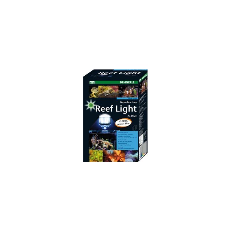 Dennerle 5690 Nano Marinus Reef Light 2:2 - plafoniera PL 24W 10000°K/blu attinico per Nano Acquari Marini da 10 a 30 litri