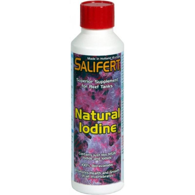 Salifert Natural Iodine 250 ml Integratore di Iodio Concentrato Liquido per coralli in acquario marino