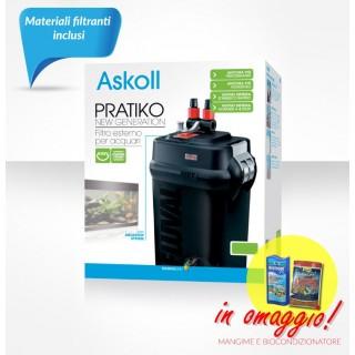 Askoll Pratiko 200 New Generation filtro esterno per acquari fino a 200 litri con materiali filtranti inclusi