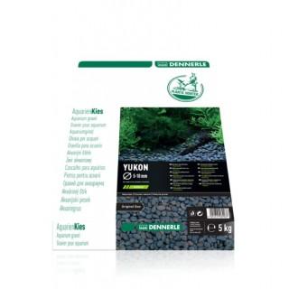 Dennerle 6903 Plantahunter Yukon Ghiaia naturale 5-10mm 5Kg fondo per acquario