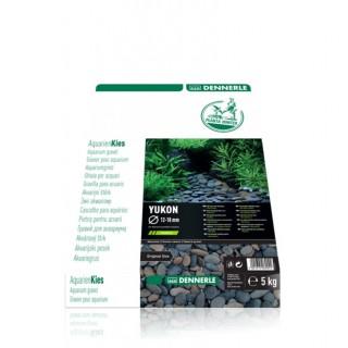 Dennerle 6904 Plantahunter Yukon Ghiaia naturale 12-18mm 5Kg fondo per acquario