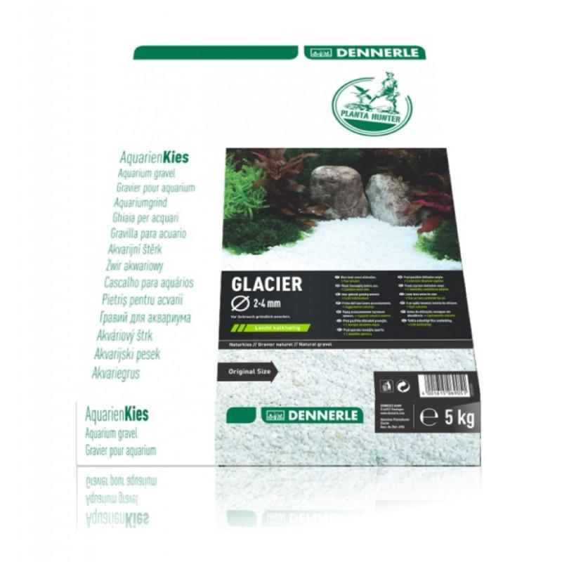 Dennerle 6905 Plantahunter Glacier Ghiaia naturale 2-4mm 5Kg fondo per acquario