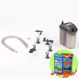 Eden 501 Filtro Esterno autoinnescante per acquari fino a 60 Litri completo di materiali filtranti