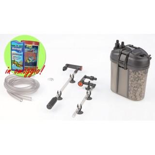 Eden 511 Filtro Esterno autoinnescante per acquari fino a 120 Litri con materiale filtrante