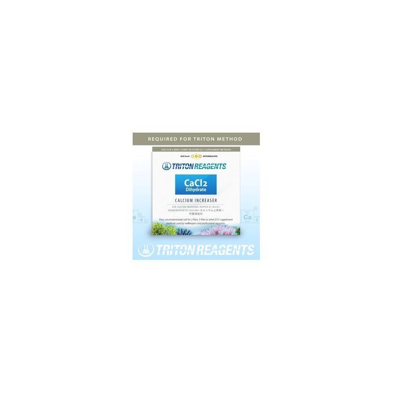 Triton CaCl2 Sale di Cloruro di Calcio Diidrato per aumentare il Ca in acquario marino 4 Kg