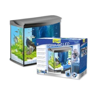 Tetra AquaArt Evolution Line 130 L acquario completo di filtro illuminazione LED e materiale filtrante