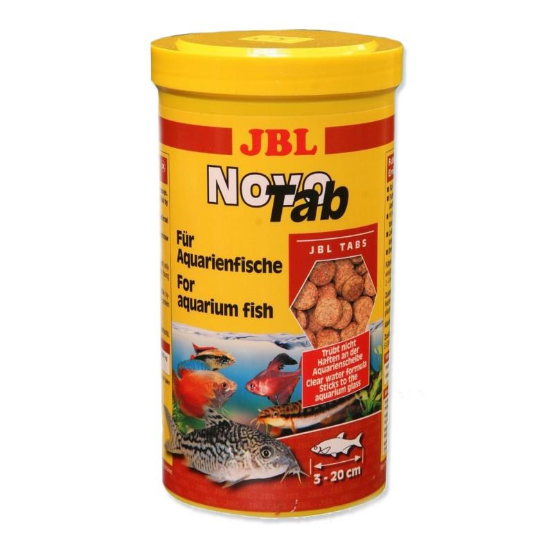 JBL Novo Tab 1000 ml mangime in pastiglie per pesci da fondo d'acquario