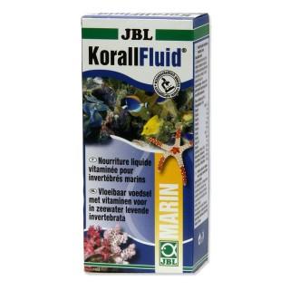JBL Korall Fluid 100 ml Plancton liquido per invertebrati e avannotti in acquario