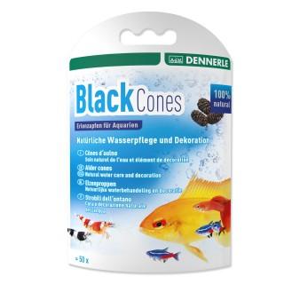 Dennerle 2748 Black Cones Pigne di Ontano per acquario