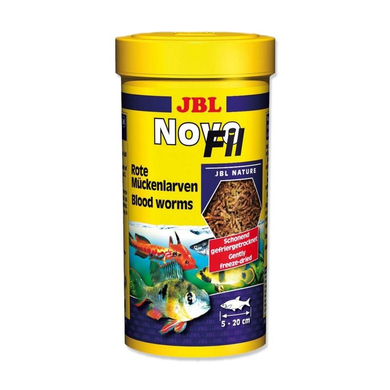 JBL Novo Fil 250 ml Chironomus Liofilizzati mangime per pesci d'acquario
