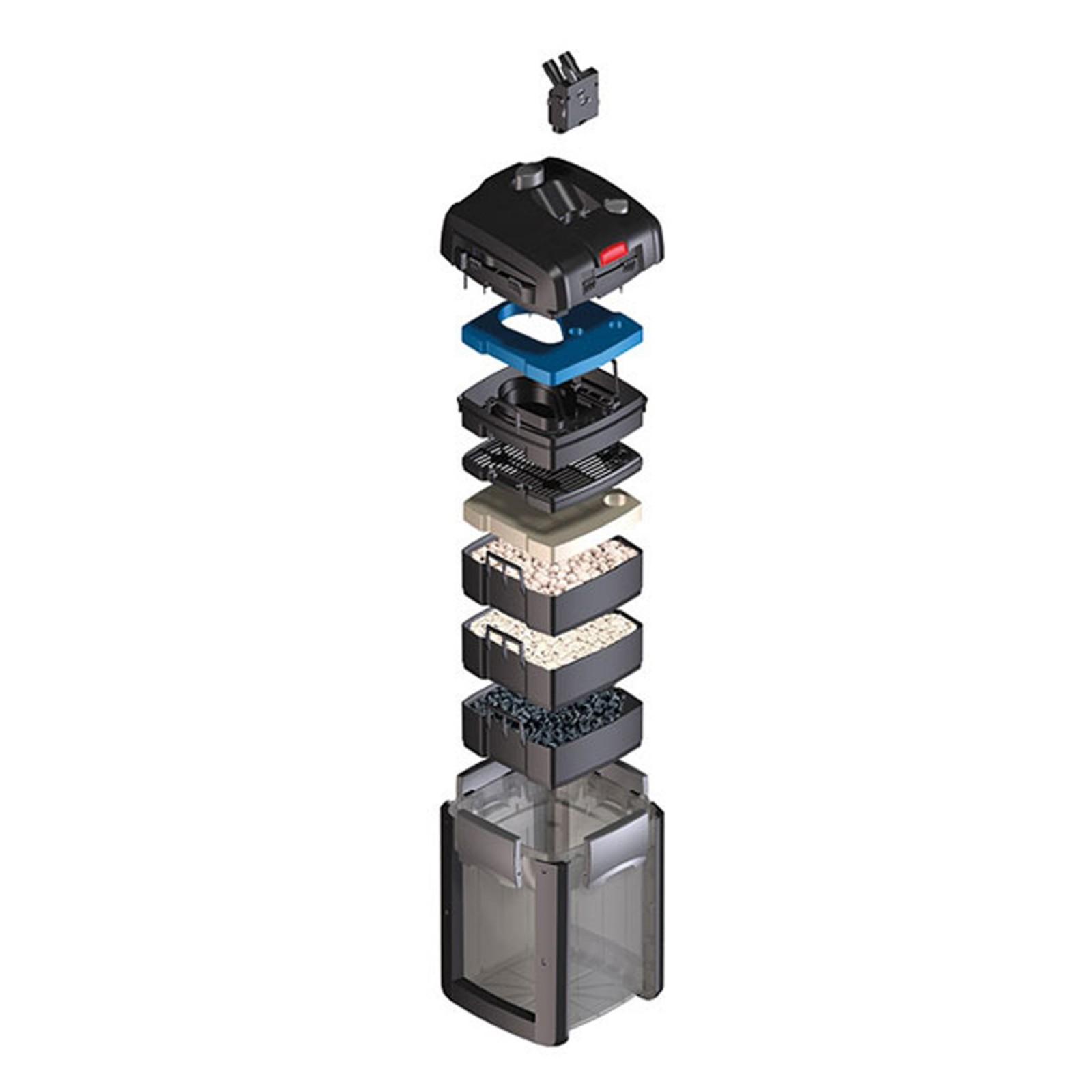 Eheim Filtro Esterno Professionel 4+ 350 2273 - 1050 l/h Completo di Mat filtran