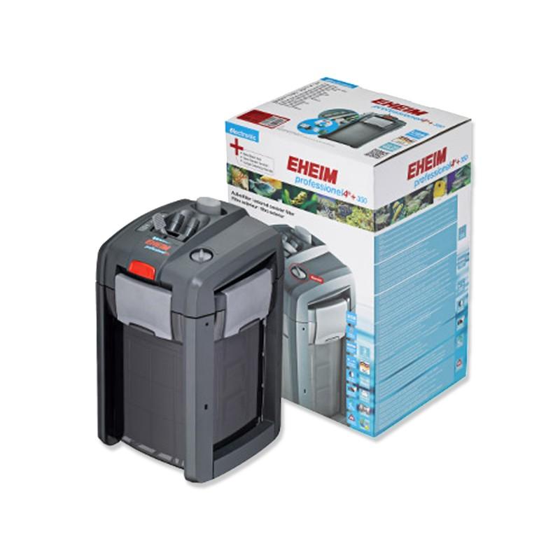 Eheim Filtro Esterno Professionel 4+ Elettronico 350e 2274 - 1500 l/h Completo di Materiali Filtranti - 2274020 per acquario
