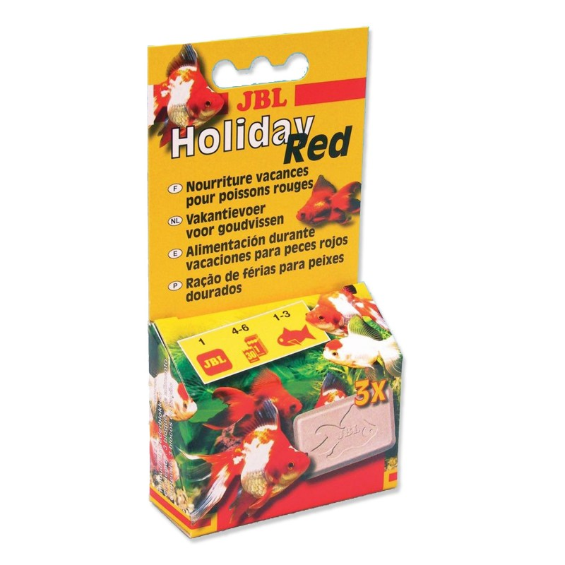 JBL Holiday Red 20 gr Mangime per pesci rossi per i periodi di vacanza