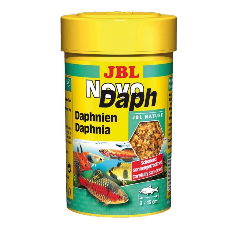 Jbl Novo Daph 100 ml mangime Naturalmente liofilizzato aiuta la digestione dei pesci d'acquario