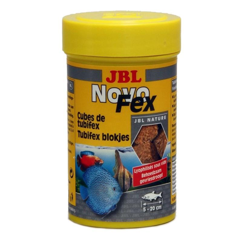 JBL Novo Fex 100 ml mangime di tubifex per pesci e tartarughe d'acquario