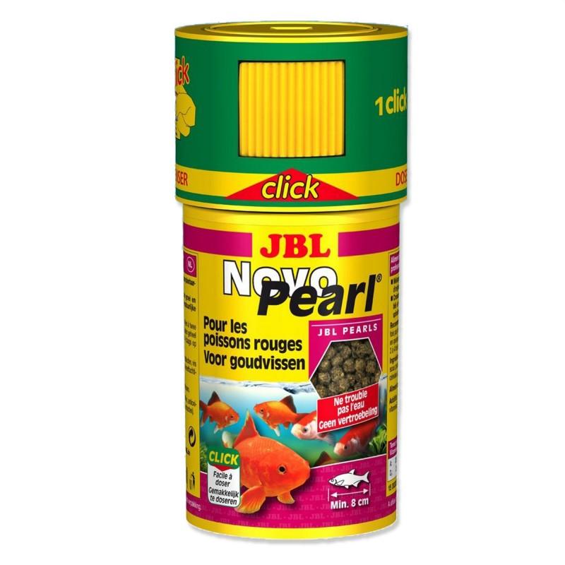 JBL Novo Pearl CLICK 100 ml mangime per pesci rossi d'acquario