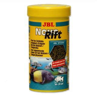 JBL Novo Rift 250 ml mangime per ciclidi in bastonicini per pesci d'acquario