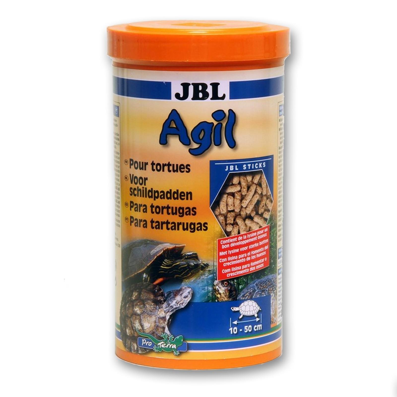 JBL Agil 1 lt mangime con vitamine per tartarughe d'acqua e palude