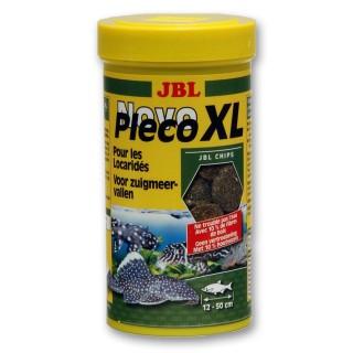 JBL Novo Pleco XL 250 ml mangime in compresse per pesci da fondo d'acquario