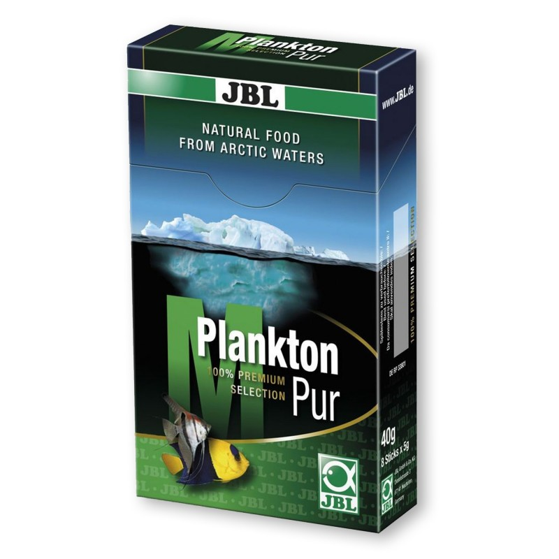 JBL PlanktonPur M 40gr (8X5gr) mangime per pesci d'acquario marino