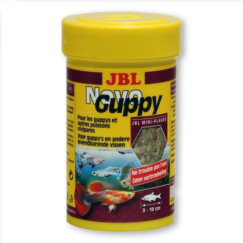 JBL Novo Guppy 100 ml mangime per guppy pesci d'acquario