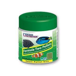 Ocean Nutrition Formula Two Marin Pellet Small 100gr mangime per pesci marini d'acquario con bisogni proteici bassi
