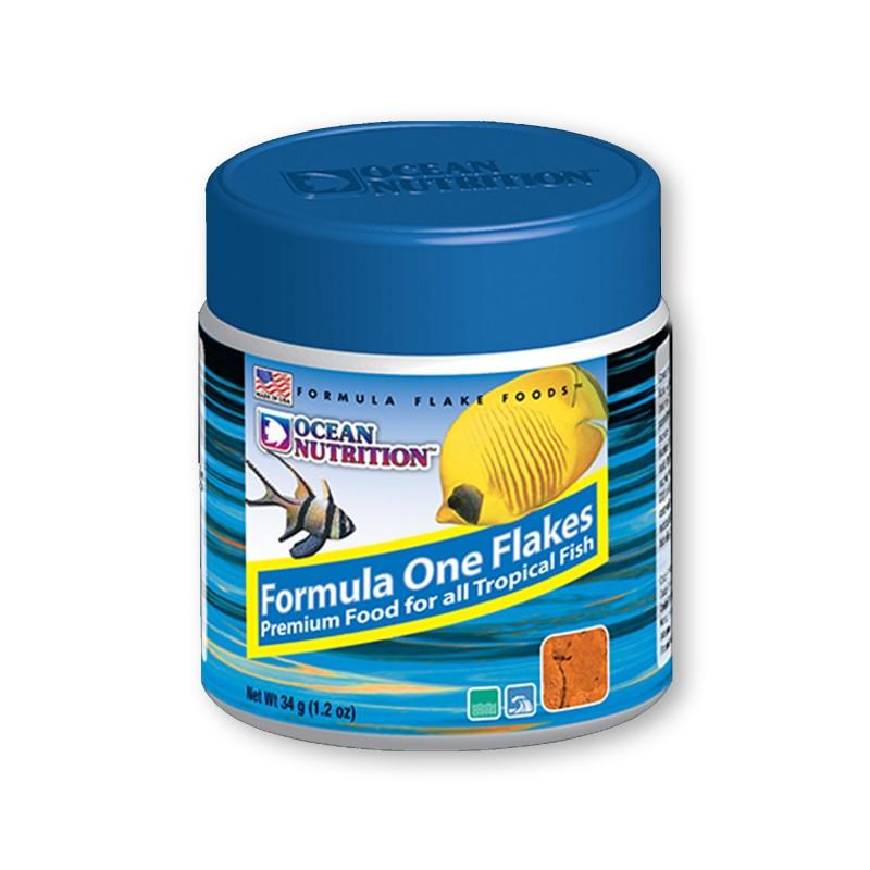 Ocean Nutrition Formula One Flakes 34gr mangime in fiocchi per pesci d'acquario marino
