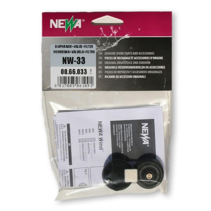 Newa Ricambio Areatore Newa Wind NW 33 Membrane e Valvole