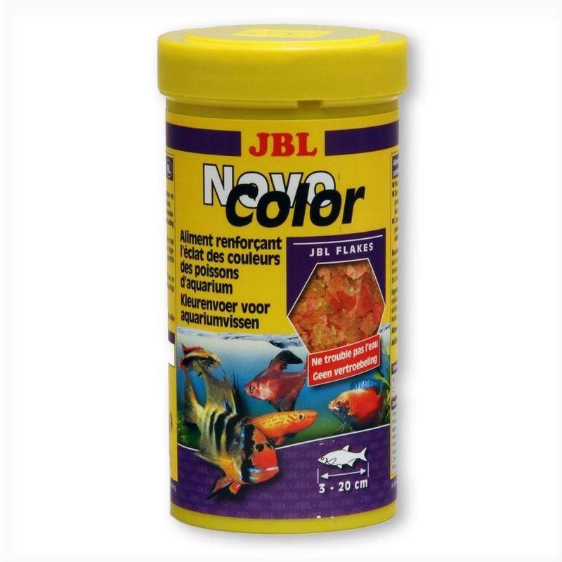 JBL Novo Color 250 ml mangime per pesci d'acquario