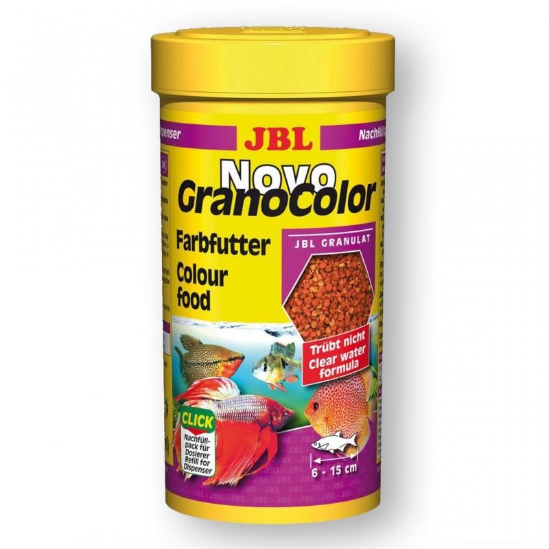 JBL Ricarica Novo GranoColor 250 ml Esalta i colori di tutti i pesci d'acquario