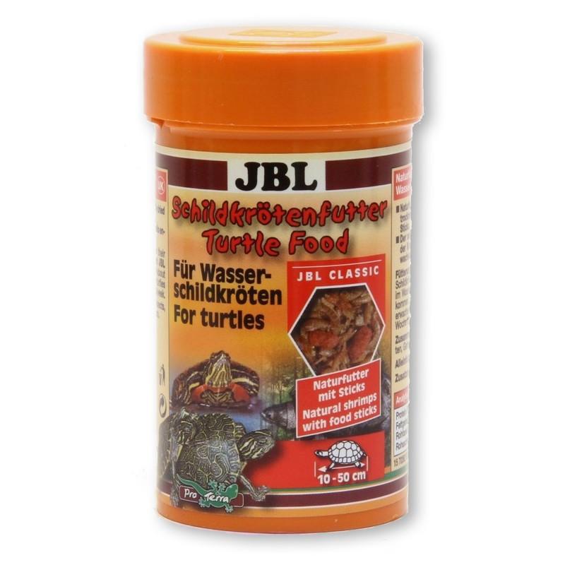 Jbl turtle food 100 ml mangime per tartarughe contenente for Mangime tartarughe acqua