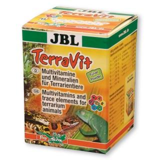JBL TerraVit 100 g Polvere plurivitaminica con microelementi per rettili e altri animali