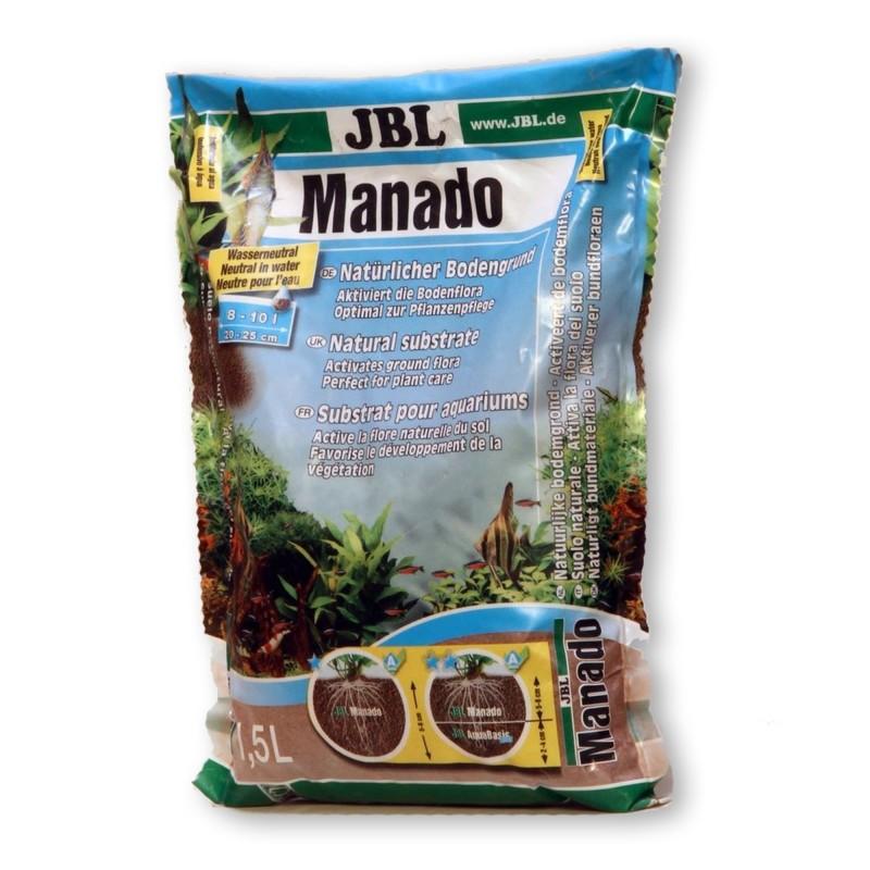 JBL Manado fondo fertile 1,5 lt per la crescita delle piante in acquario