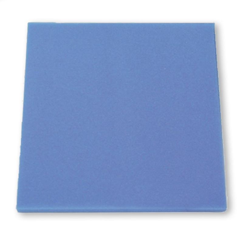 JBL Spugna filtrante blu pori fini 50x50x5 cm per filtri d'acquario