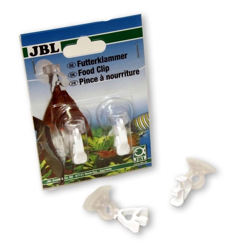 JBL FOOD CLIP 2 pz Molletta per mangime da usare in acquario o terrario